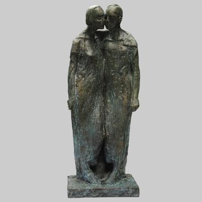 Angelika Kienberger, Unisono, 1992, Bronze, 42x15x13  cm