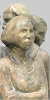 Angelika Kienberger, Warten, 2006, Ulme, 35x20x17 cm