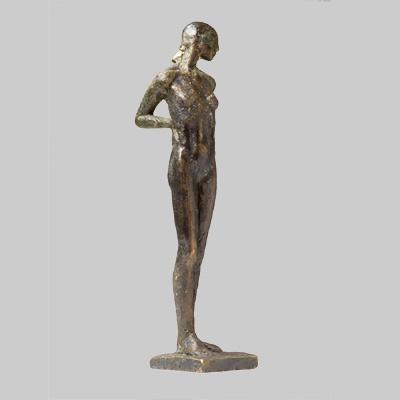 Angelika Kienberger, Kleine Stehende, 2007, Bronze, 22 x 4,5 x 5 cm